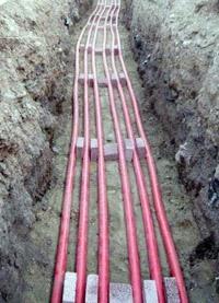 прокладка силовых кабелей. Ставропольские электрики.